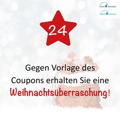 Frohes Fest! Holen Sie sich Ihre Weihnachtsüberraschung ab*!